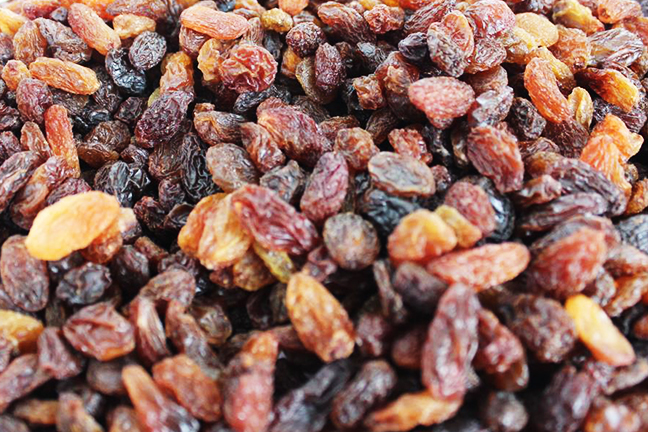 Xinjiang red raisin
