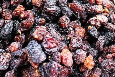 Global red raisins